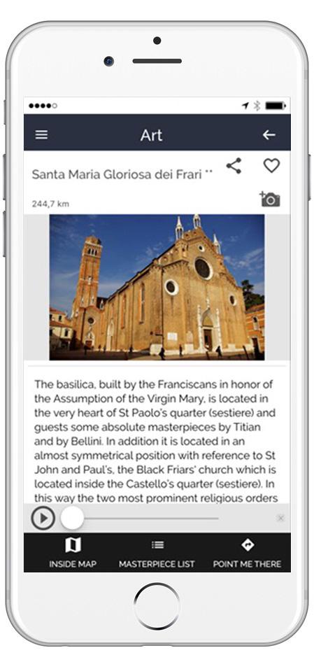 Masterpiece ARTin Venezia - Esempio Basilica dei Frari