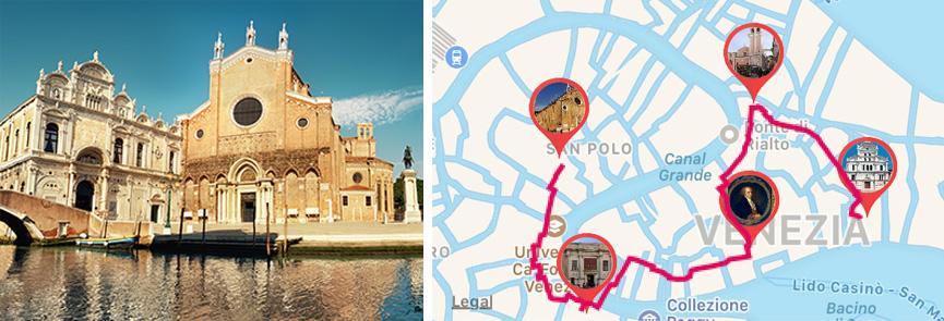 Basilica di Santa Maria Gloriosa dei Frari a Venezia - ARTin app