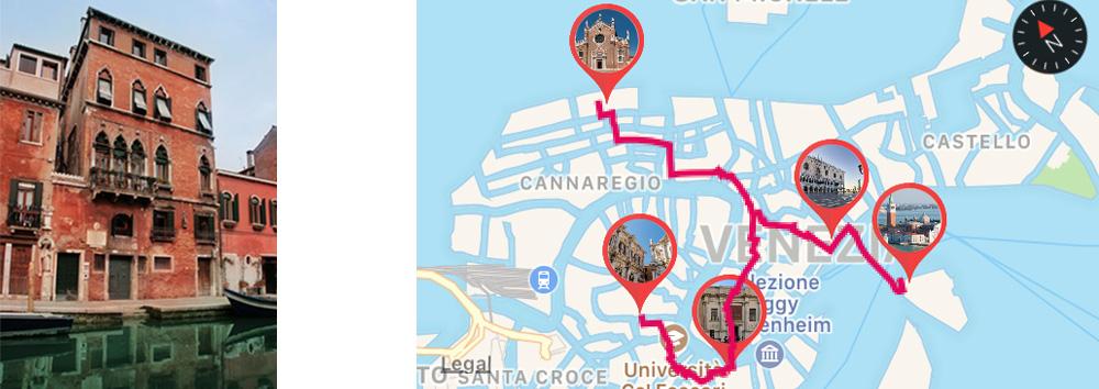 Casa di Tintoretto in Fondamenta dei Mori, Cannaregio Venezia- ARTin app
