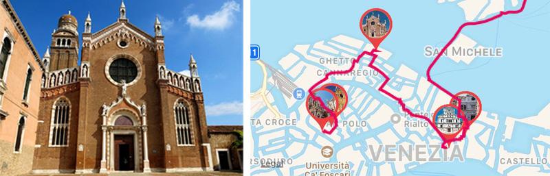Basilica of Santa Maria Gloriosa dei Frari in Venice - ARTin app