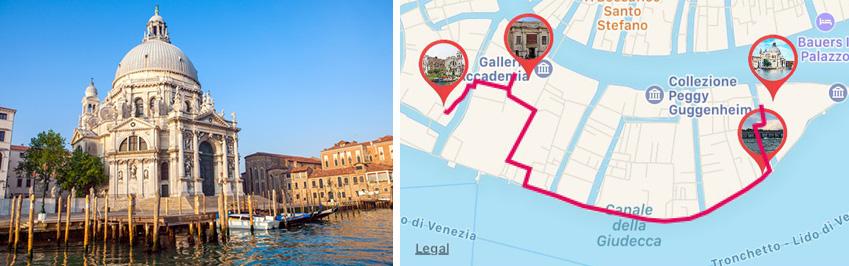 Santa Maria della Salute Basilica in Venice - ARTin app