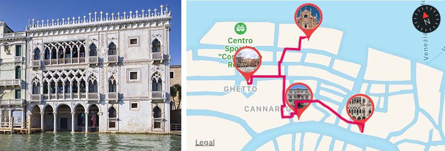 Galleria Ca' d'Oro a Venezia - ARTin app