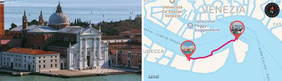 Redentore Church in Venice - ARTin app