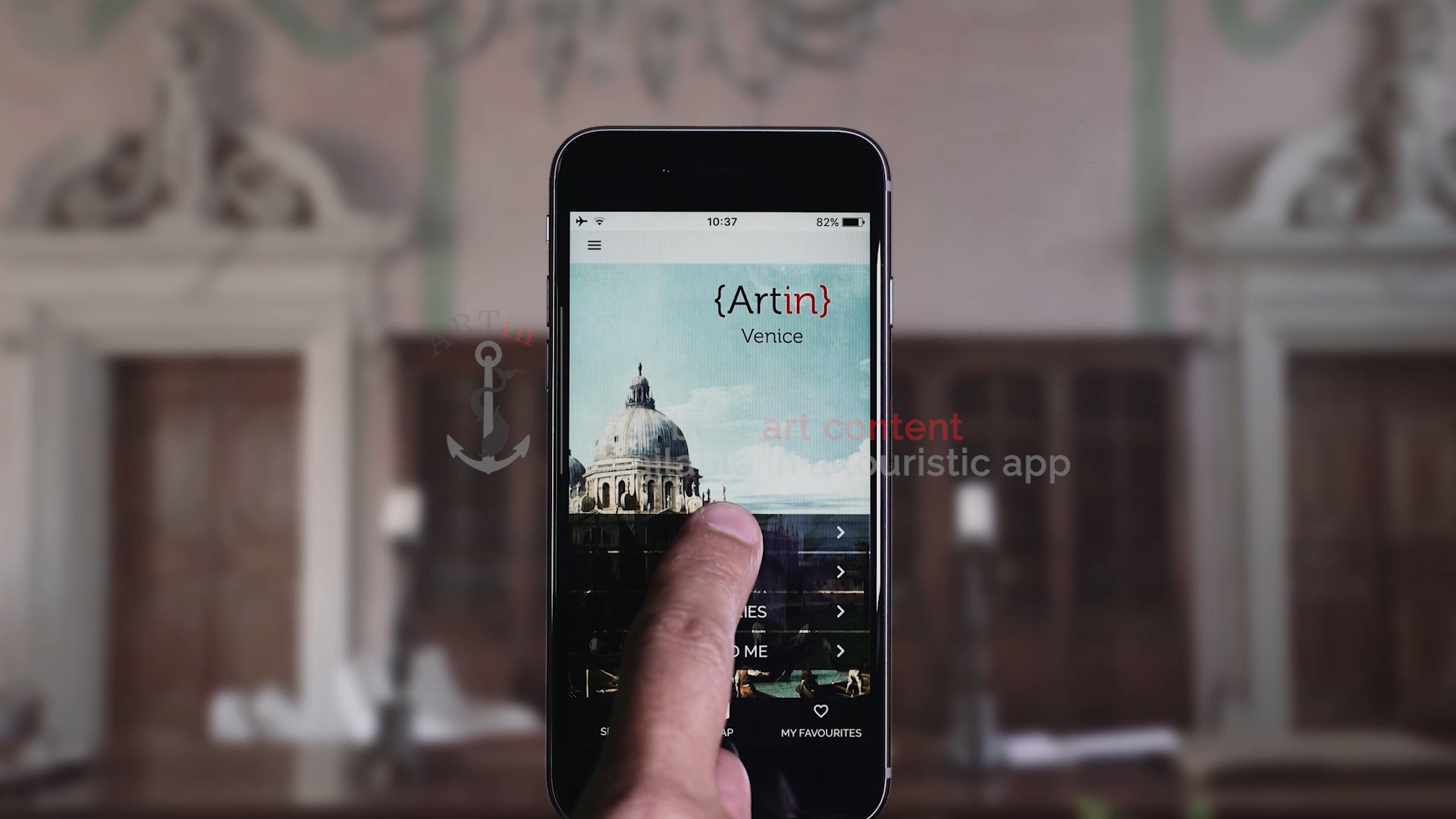 Download ARTin Venice App store