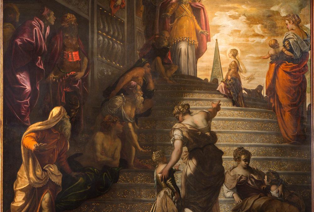 La Presentazione della Vergine al Tempio di Tintoretto