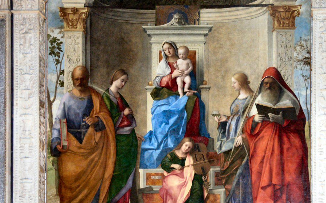 La Pala del Bellini nella chiesa di San Zaccaria