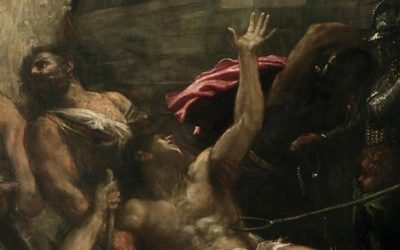 The Martyrdom of Saint Lawrence by Titian