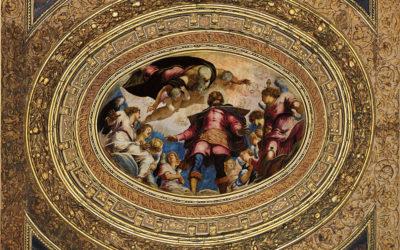 """Il Tintoretto e San Rocco, tratto dal romanzo """"La lunga attesa dell'angelo"""" di Melania Mazzucco"""