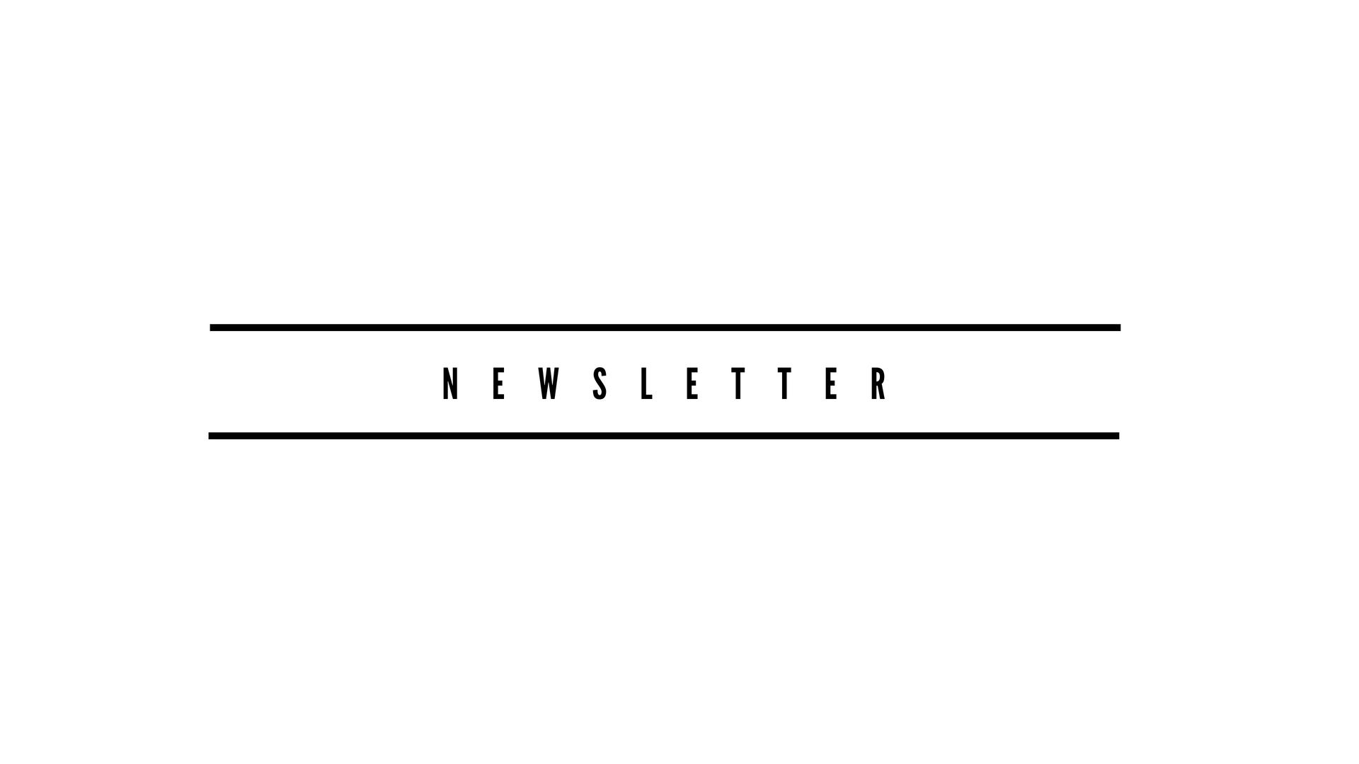 Newsletter ARTin