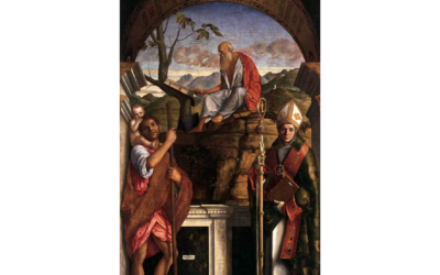 The altarpiece by Giovanni Bellini