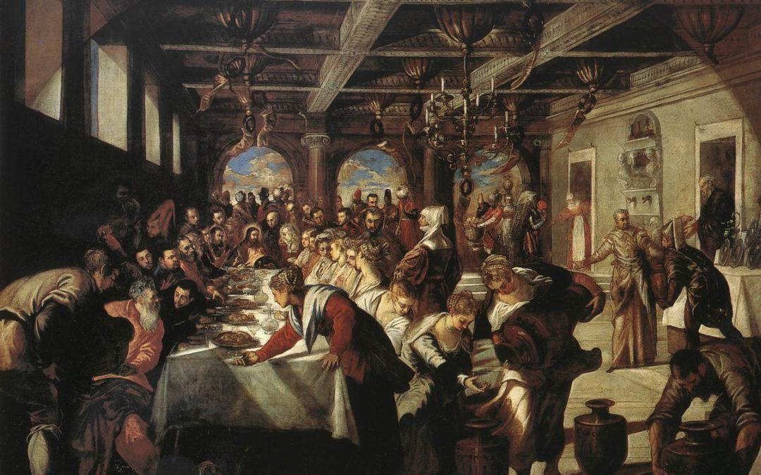Le Nozze di Cana di Jacopo Tintoretto