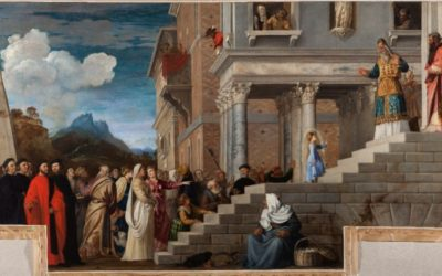 The Presentation of the Virgin by Titian